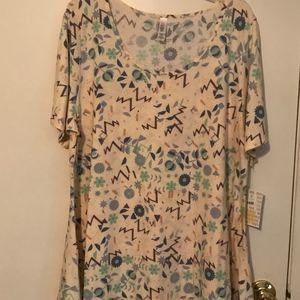 NWT LuLaRoe blouse Perfect T-3XL